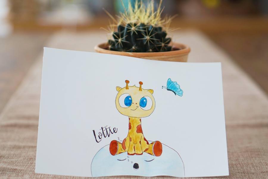 Lottie A Cute Baby Giraffe