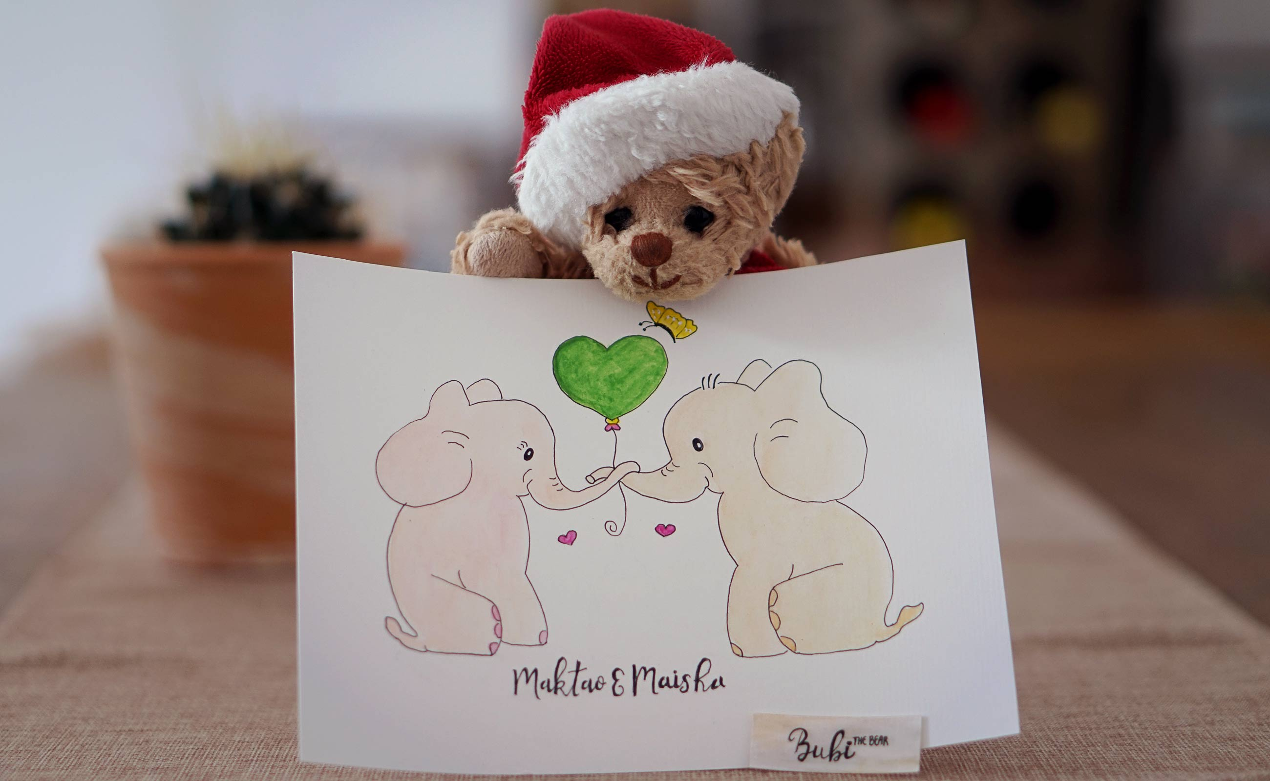 Maisha & Maktao Baby Elephants