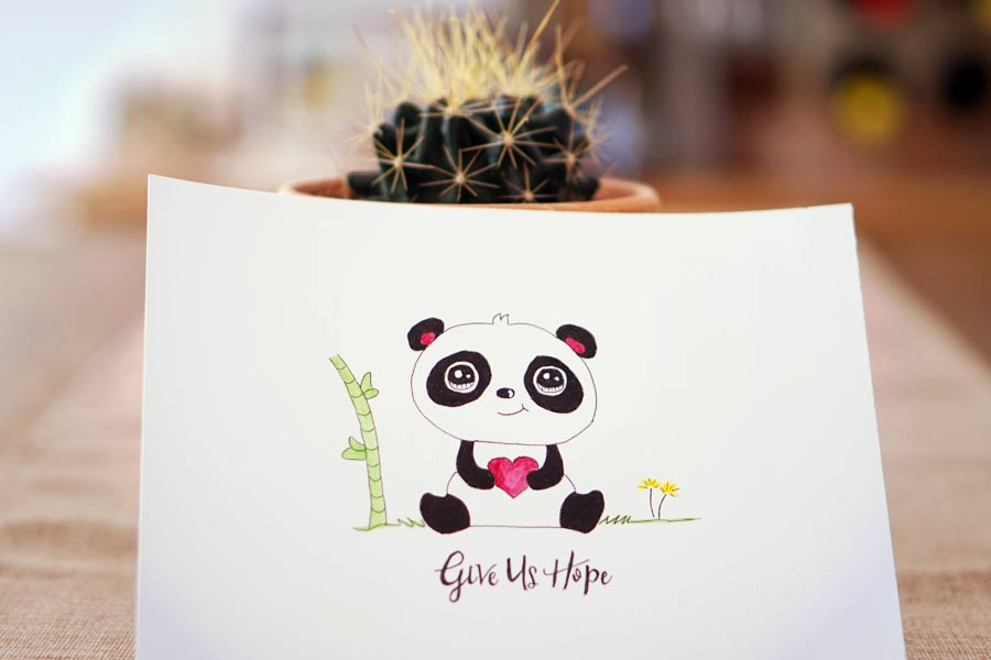 Cute Panda - Save The Animals