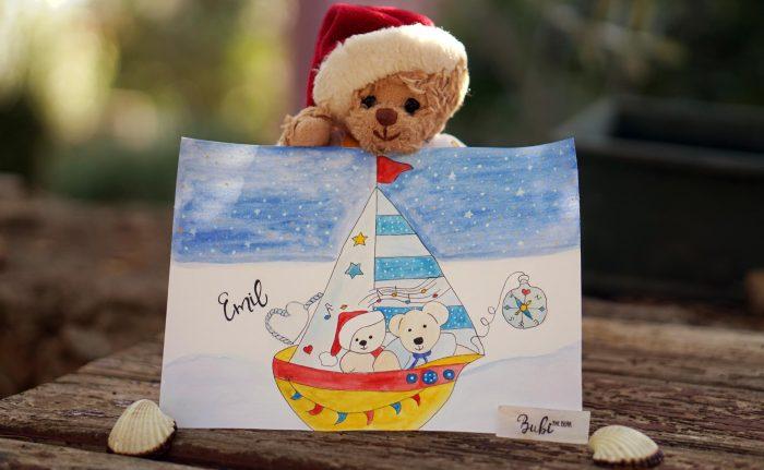 Boat Adventure Illustration