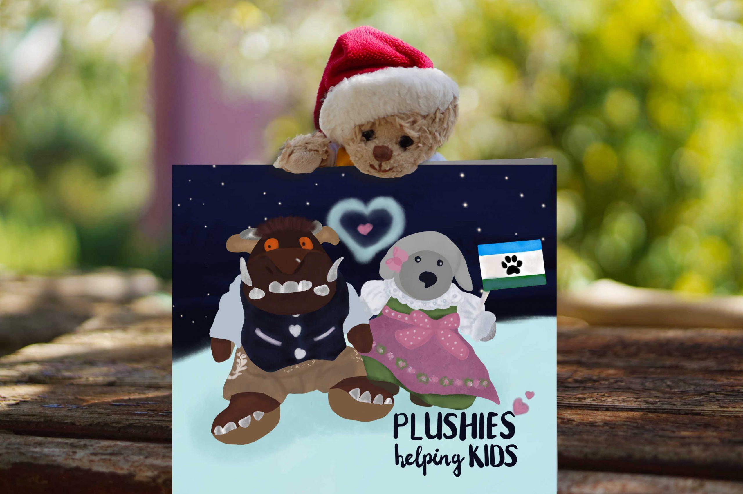 Plushies helping Kids