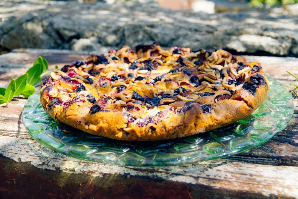 Fruit Vegan Cake